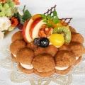 11月予約限定お菓子の会『ビスキュイ・マロン』15cm