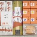 冬の銘菓選ちよ柿6個・プチ柿サブレ3個・柿羊羹1本・のし柿4枚・小柿1袋・延寿柿2個